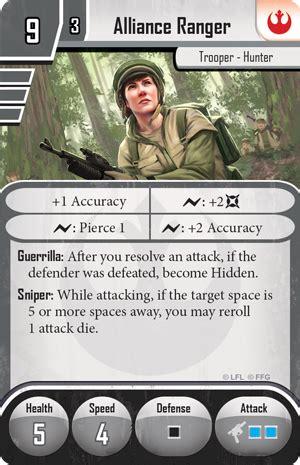 imperial assault deployment card template rebels alliance ranger imperial assault wiki fandom powered