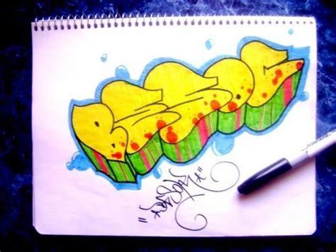 imagenes de graffitis originales como hacer un graffiti en papel youtube