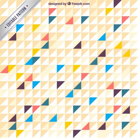 triangle pattern freepik geometric triangular pattern vector free download