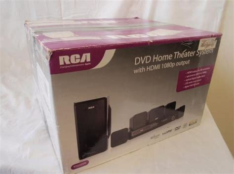 rca rtd325w 250w 1080p hdmi dvd home theater speaker