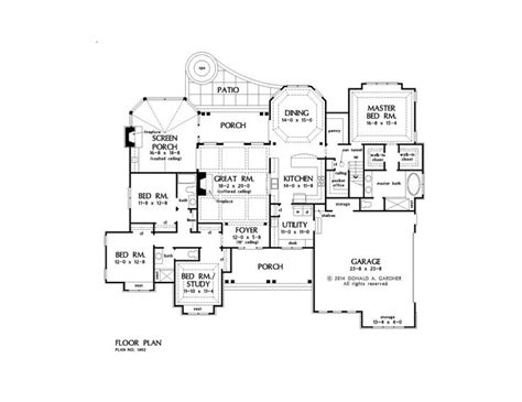 best of one story house plans over 2500 sq ft house plan 306 best images about craftsman home plans on pinterest