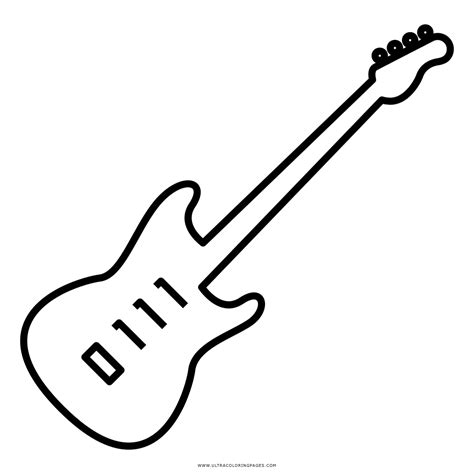 imagenes de guitarras rockeras guitarra sheet coloring pages