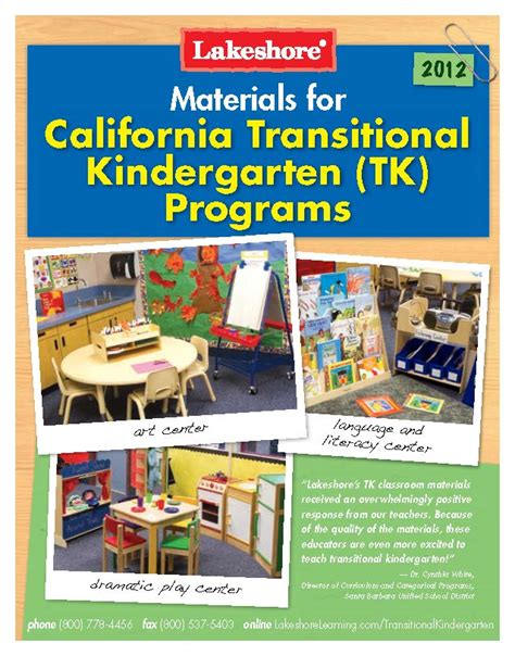 themes for transitional kindergarten materials for the transitional kindergarten classroom