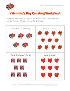 children s valentine worksheets