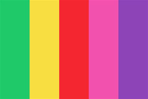 trivia color palette