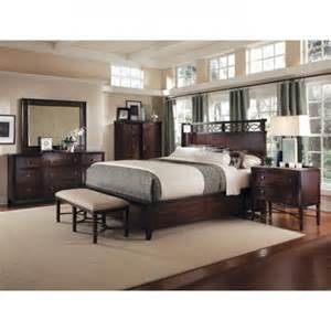 bedroom sets king size intrigue shelter 5 piece king size bedroom set by a r t furniture