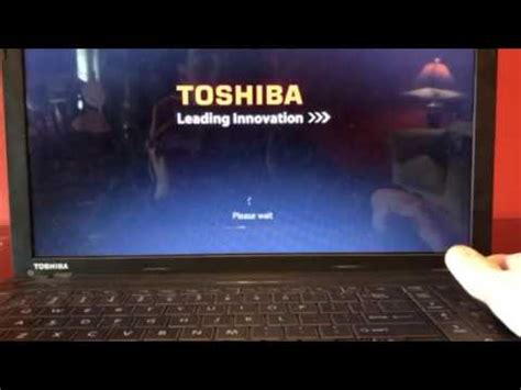 toshiba laptop boot loop fix youtube