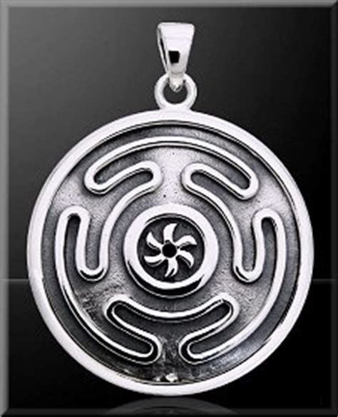 hecate symbolism hecate s wheel pendant