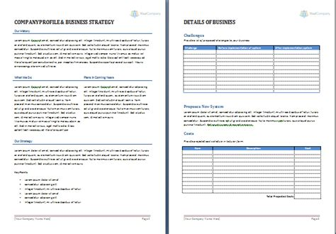 business proposal template office templates online