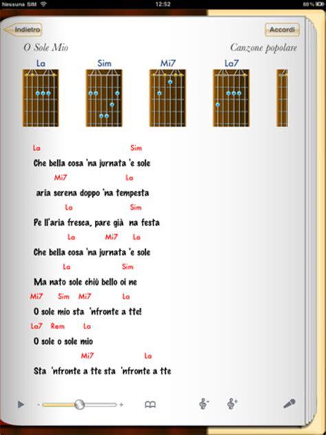 testo e accordi per chitarra il canzoniere applicazione di archivio di testi e accordi