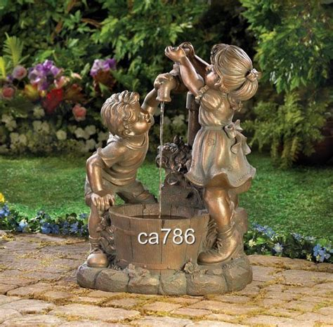 backyard fountains for sale play statue art garden outdoor water fountain for sale new and used picture to pin on
