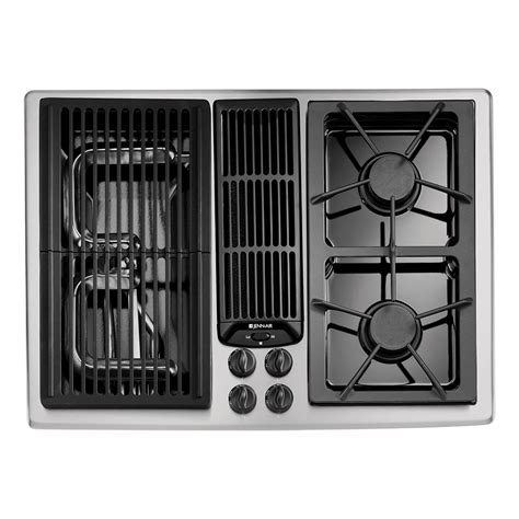 Jenn Air Downdraft Gas Cooktop jenn air jgd8130ads 30 quot gas downdraft cooktop w grill and two burners sears outlet
