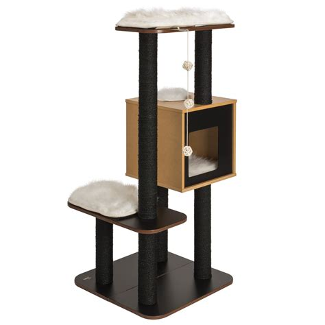 cat furniture vesper v high base cat furniture petco