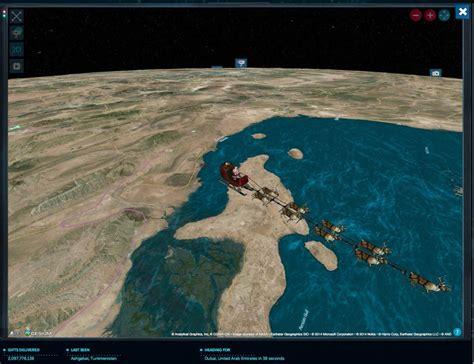 tracking santa on norad where s santa the 2014 santa tracker review from norad
