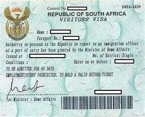 Membuat Visa Afrika Selatan | membuat visa afrika selatan a l f r i n a