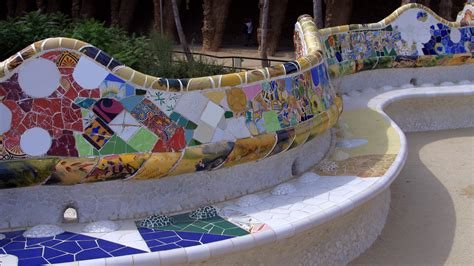 gaudi bench mosaic bench from park guell andrey 19 galleries