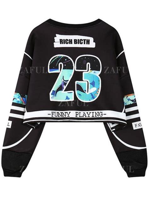 Sweater Crop Swag Sweater Crop Baru Murah sweater dope rich zaful cropped sweater cropped cropped hoodie
