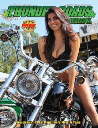 thunder roads louisiana magazine march 2016 by thunder