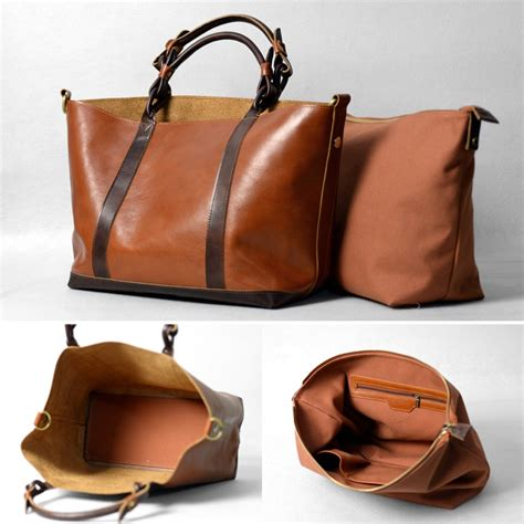 Handmade Leather Bag - s handmade leather handbag purse shoulder bag