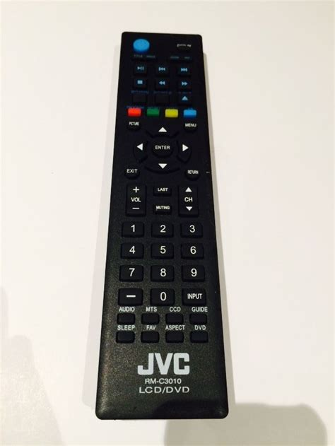 jvc tv remote for lt 32de74 lt32de74 lcd led hdtv
