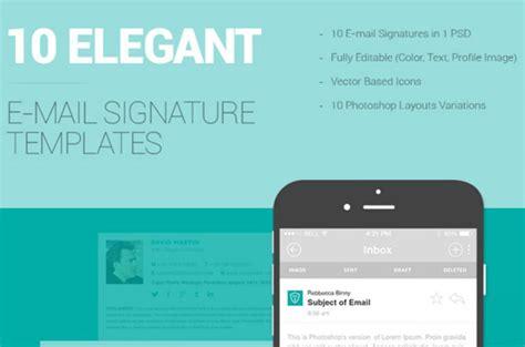 10 Free Email Signature Templates Designbeep Email Signature Illustrator Template