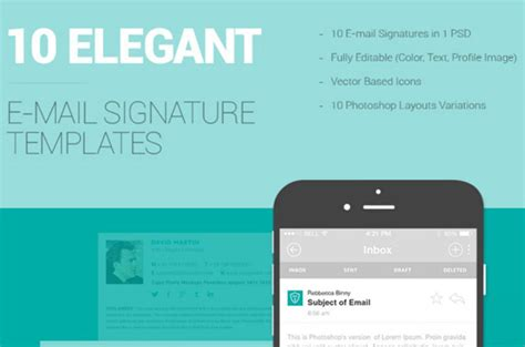 free email signature templates 10 free email signature templates designbeep
