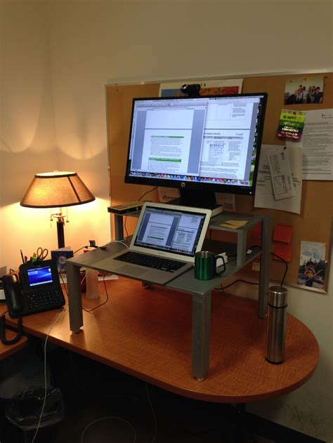 Do It Yourself Standing Desk Holly Witteman Do It Yourself Stand Up Desk