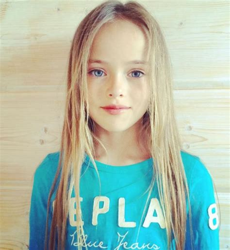 little girl models ages 11 is nine year old model kristina pimenova from russia being