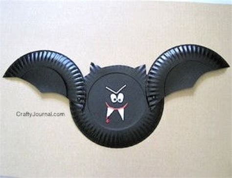 Bat Paper Plate Craft - 50 simple paper plate crafts for every event diynow net