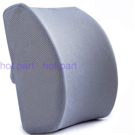 Back Support Pillow For Chair confortable 3d mesh memory foam seat cushion lumbar back