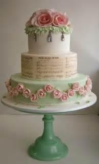 music wedding cake ideas 63771 wedding cake shabby chic 2