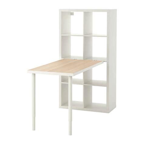 escritorio kallax kallax combinaci 243 n escritorio efecto roble tinte blanco