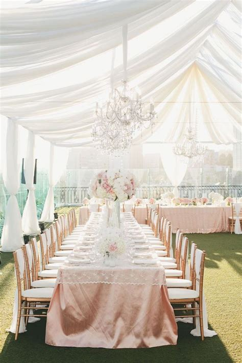 drapes for wedding reception tent weddings and drapes with luxe style linens rose