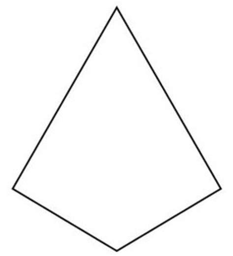 printable shapes hexagon 17 best images about printable templates on pinterest