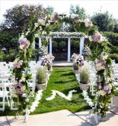 outdoor wedding ceremony decorations outdoor decorating