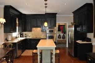 black kitchen cabinet paint antique black painted kitchens