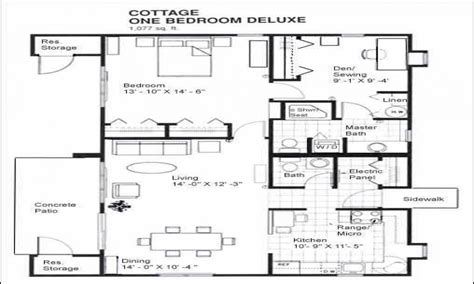 one bedroom cottage floor plans 1 bedroom cabins designs 1 bedroom cabin floor plans one bedroom cabin floor plans treesranch