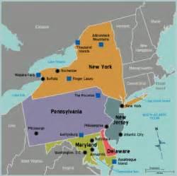 us map mid atlantic region mid atlantic wikitravel