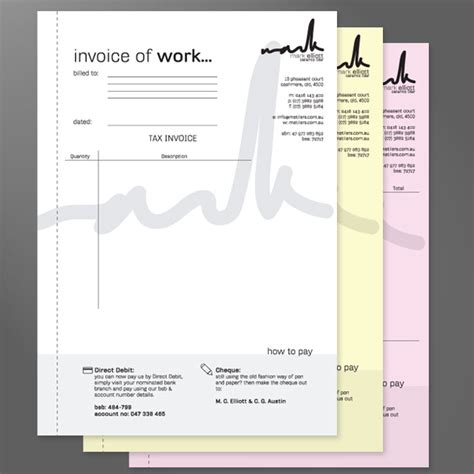 design invoice book invoice books quote books receipt books printed free