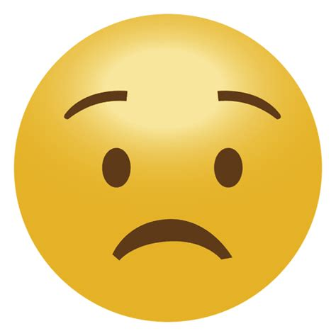 imagenes de un emoji triste preocupar emoticon emoji triste baixar png svg transparente
