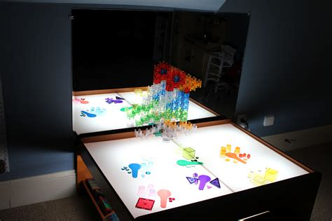 diy light table activities for children do it yourself
