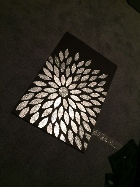 aluminum foil crafts for diy aluminum foil flower arts crafts diy