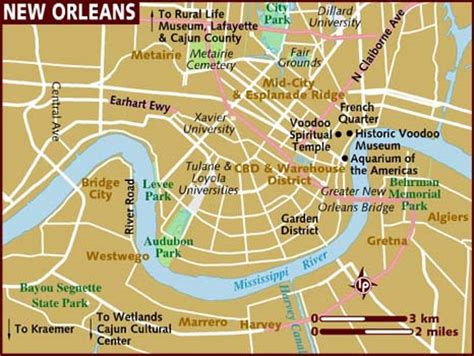 map new orleans map of new orleans