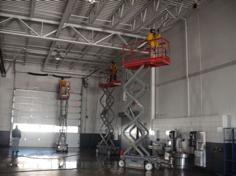 The Interior Warehouse by Pressure Washing Warehouse Interior Walls And Ceilings