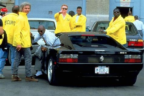 michael jordan ferrari throwback thursday michael jordan uses his ferrari and a