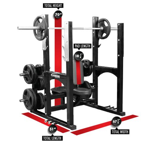 all in one bench press bench press pad width benches