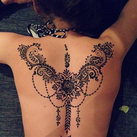 henna tattoo design back 90 stunning henna designs to feed your temporary