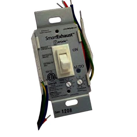panasonic fan delay timer switch smartexhaust ventilation control timer and light switch
