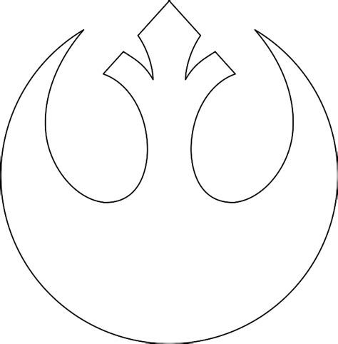 Wars Rebel Symbol Outline by File Whitestarbird Svg Wookieepedia Fandom Powered By Wikia
