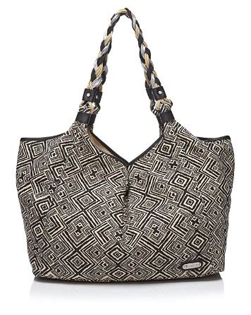 Rafe Bosworth Metallic Linen Purse by Rafe New York Tote Tribal Print Playa Bloomingdale S